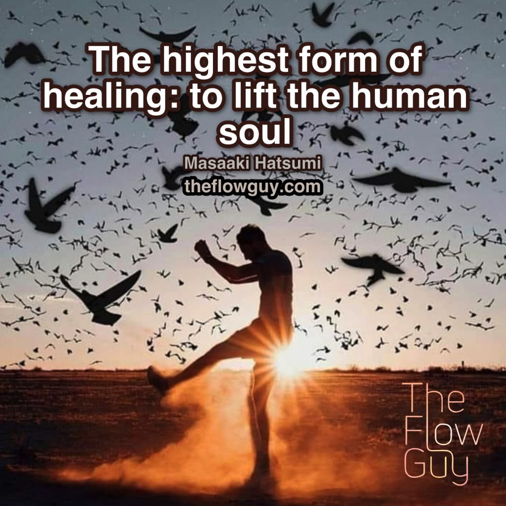 TheFlowguy.com. The Highest form of Healing - to lift the human soul